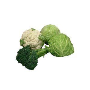 Káposzták, karfiol, brokkoli