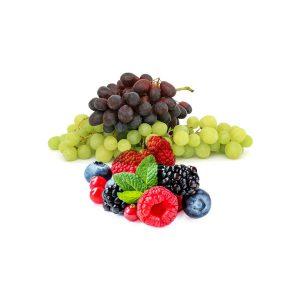 Szőlők, bogyós gyümölcsök